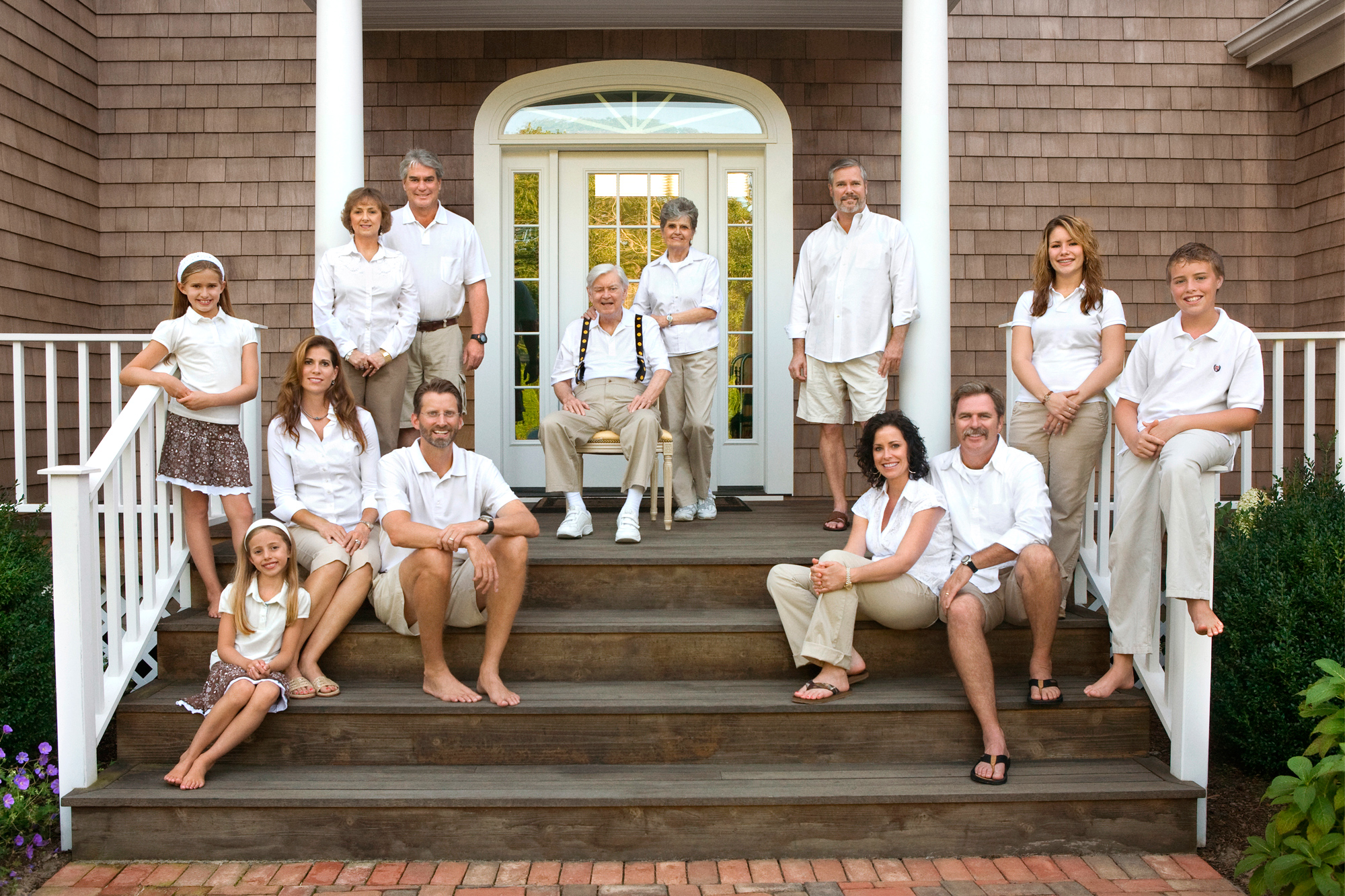 Extended Family Session in The Hamptons