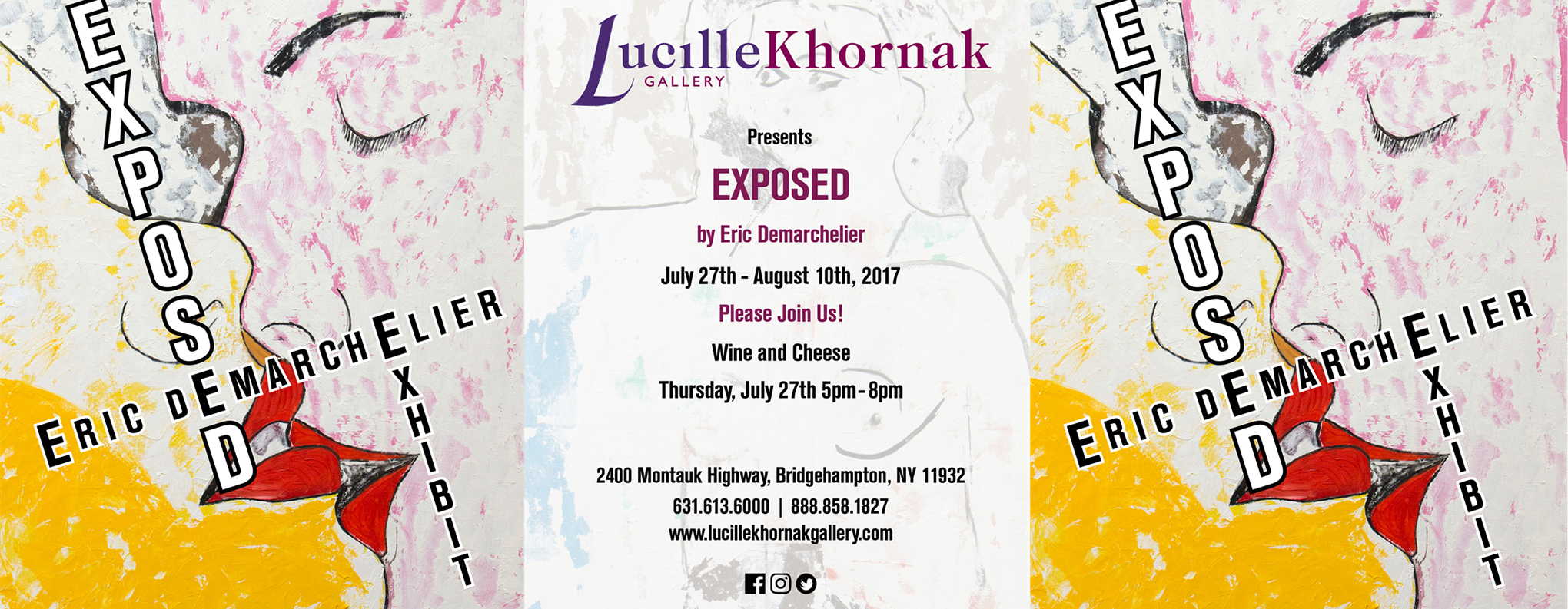 Lucille Khornak Gallery presents Exposed by Eric Demarchelier