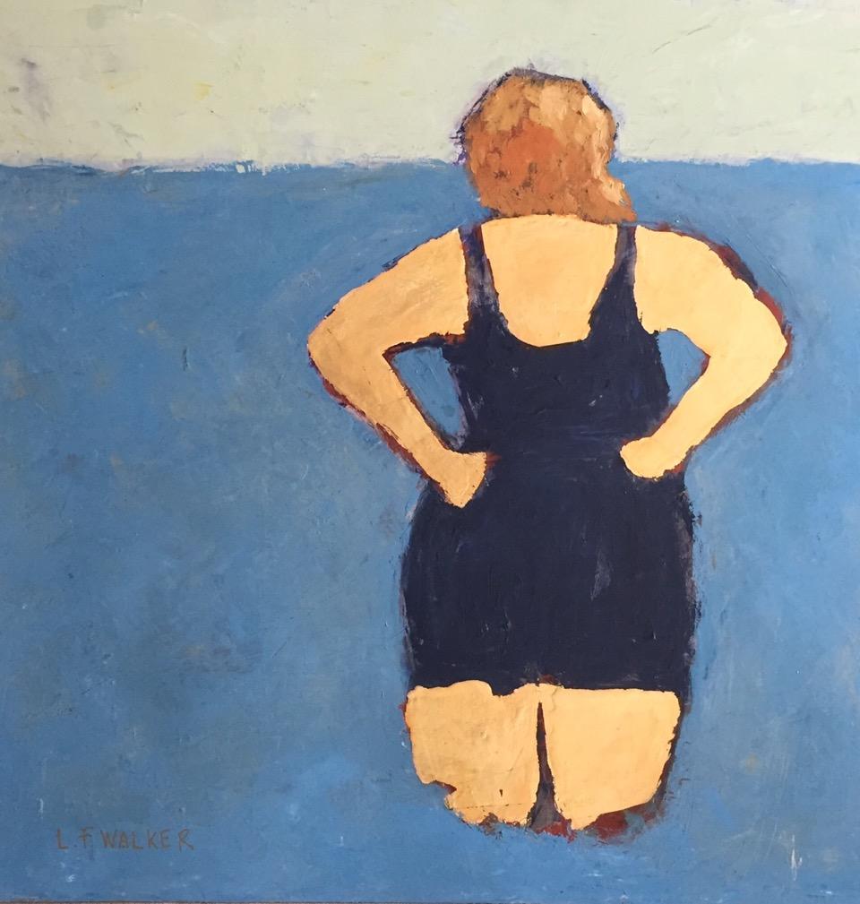 "Lucille Khornak Gallery  presents "" Big is Beautiful ,"" by  Lynn F. Walker"