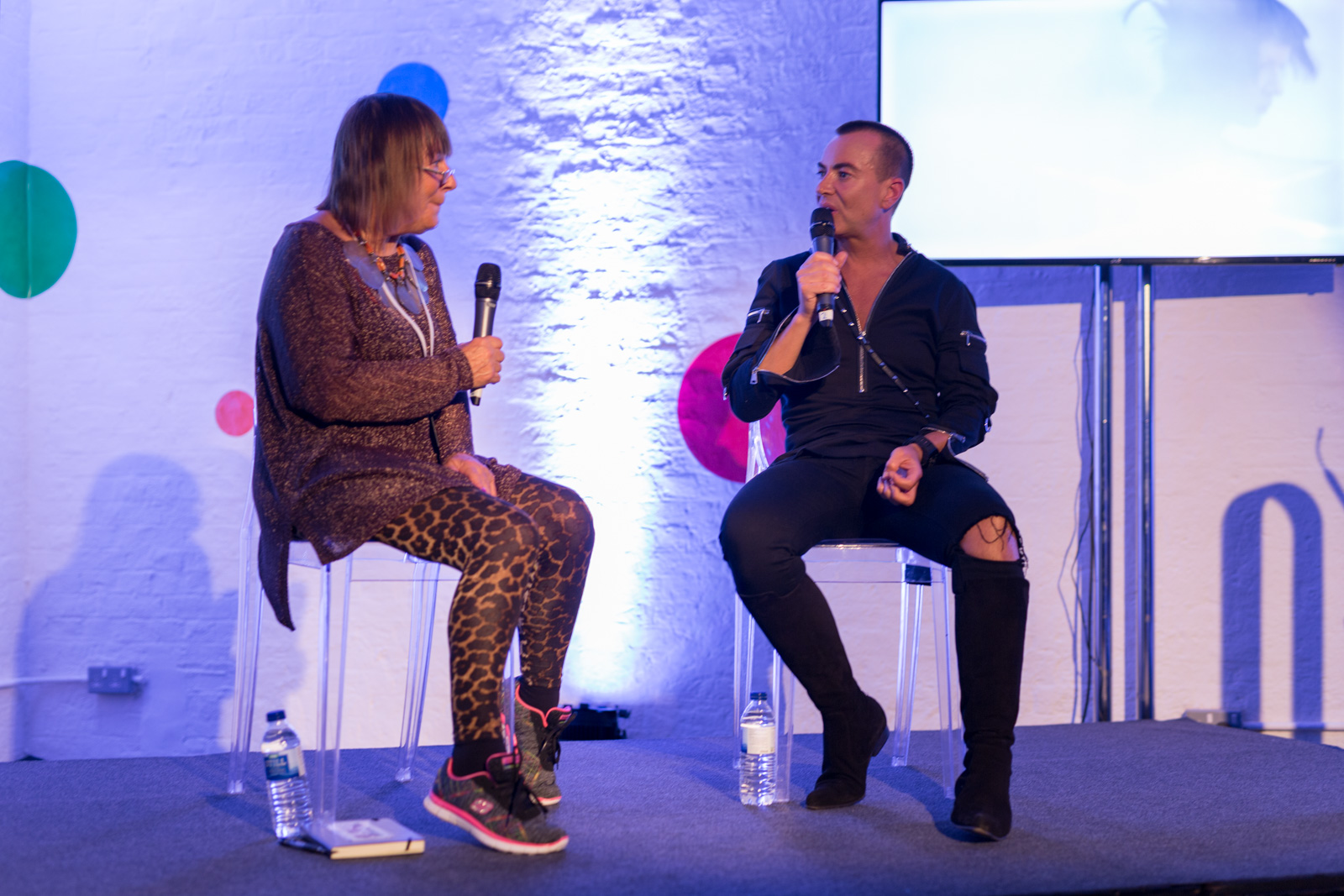 (Julien Macdonald in conversation with Hilary Alexander OBE The career of the King of Glamour by Debenhams) (Debenhams)  (06-06-2017) (image by Qavi Reyez)_.jpg