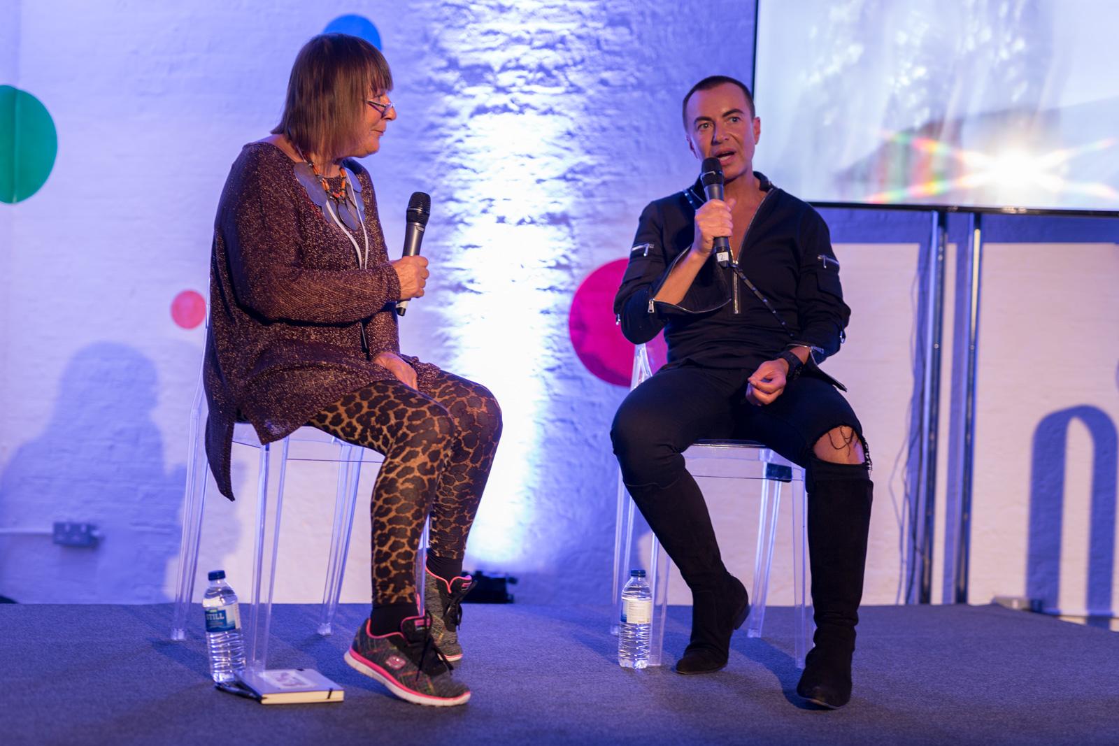 (Julien Macdonald in conversation with Hilary Alexander OBE The career of the King of Glamour by Debenhams) (Debenhams)  (06-06-2017) (image by Qavi Reyez)_-2.jpg