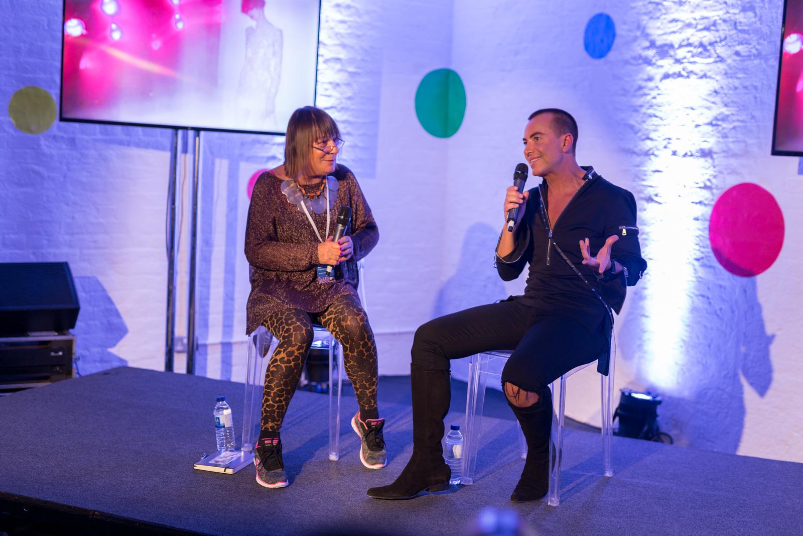 (Julien Macdonald in conversation with Hilary Alexander OBE The career of the King of Glamour by Debenhams) (Debenhams)  (06-06-2017) (image by Qavi Reyez)_-6.jpg
