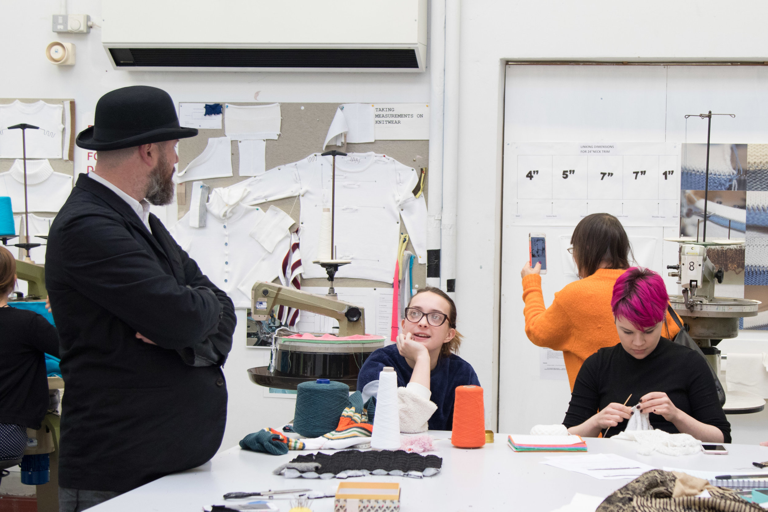 Martyn talking to students 2, Nottingham Masterclass, Image by Richard Hargrave.jpg