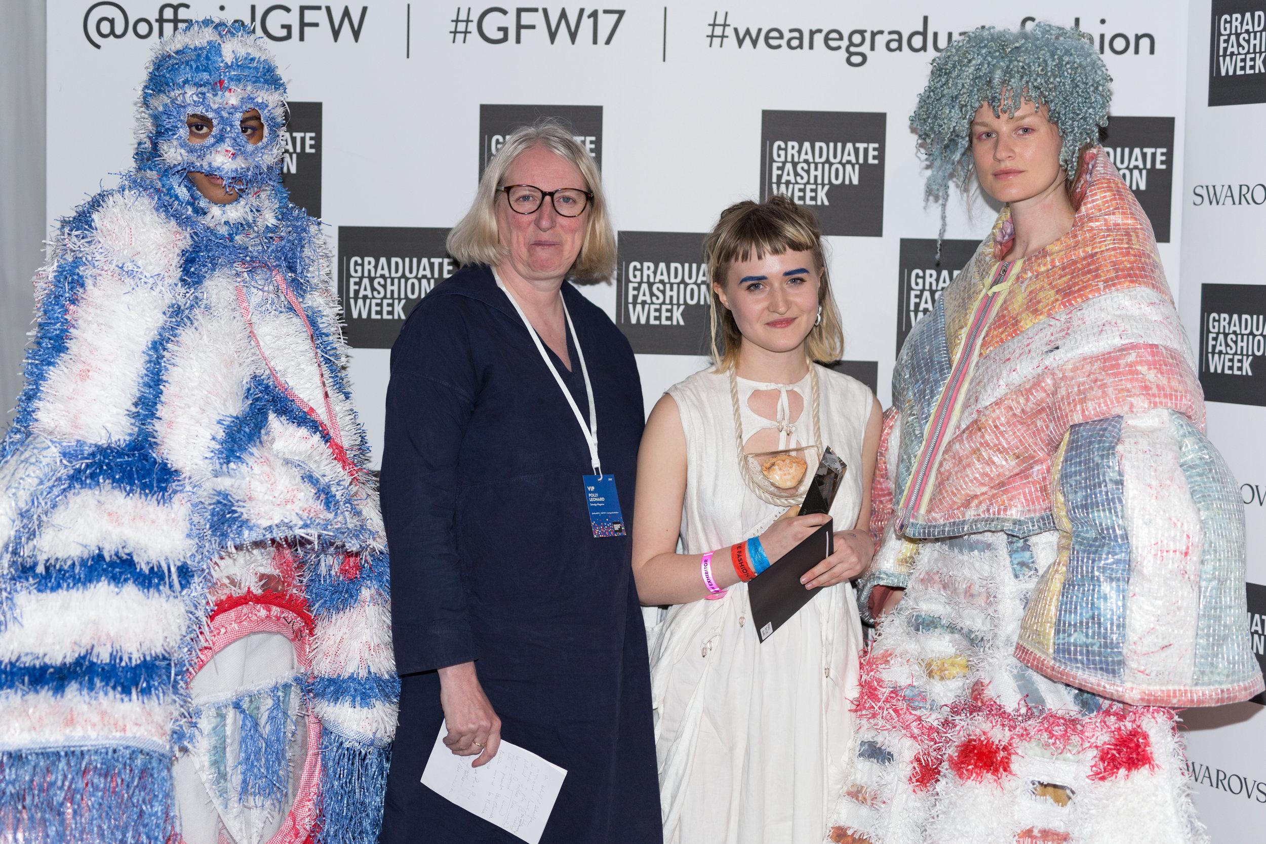 (Maddie Williams, Polly Leonard Selvedge Magazine Editor) (Edinburgh College of Art) (Catwalk Textile Award) (07-06-2017) (image by Qavi Reyez)_-2.jpg