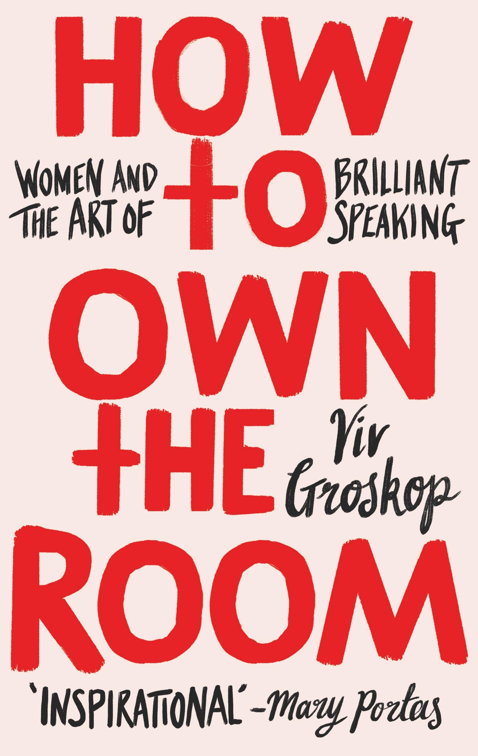 "Joy Campbell, Sponsorship Manager: ""I was delighted to have been given a copy of Viv Groskop's book, How to Own the Room: Women and the Art of Brilliant Speaking which I am devouring ahead of speaking on a panel which is normally something I approach with trepidation — I am counting on this book to change that!"" -"