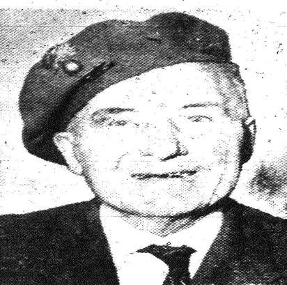 John Alexander Menary - A Dufferin Veteran honoured by the DHP class of 2015
