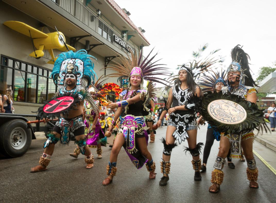Dia de los Muertos Parade at Overton Square
