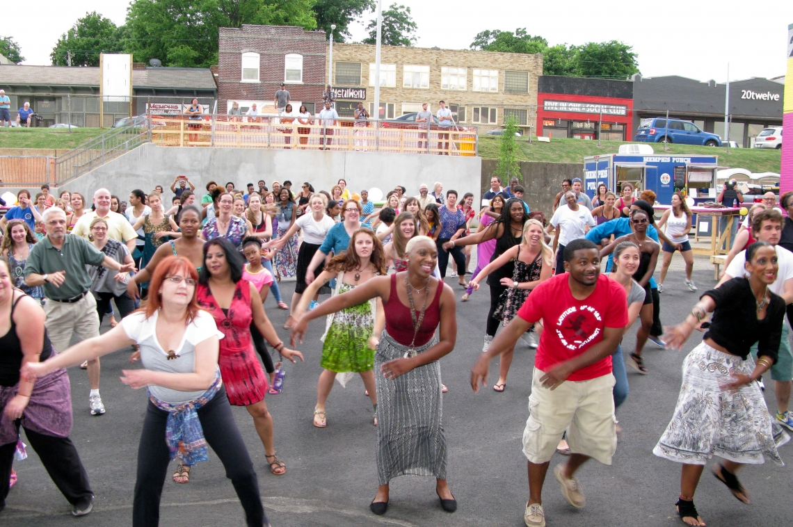 Bollywood Dance on Broad Avenue