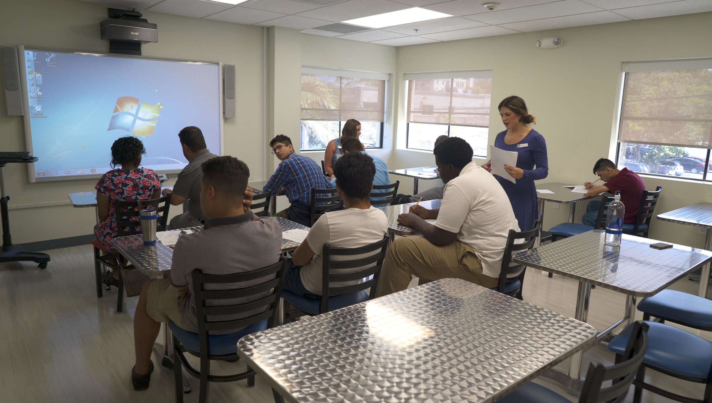 Classroom instruction at Marino Campus.