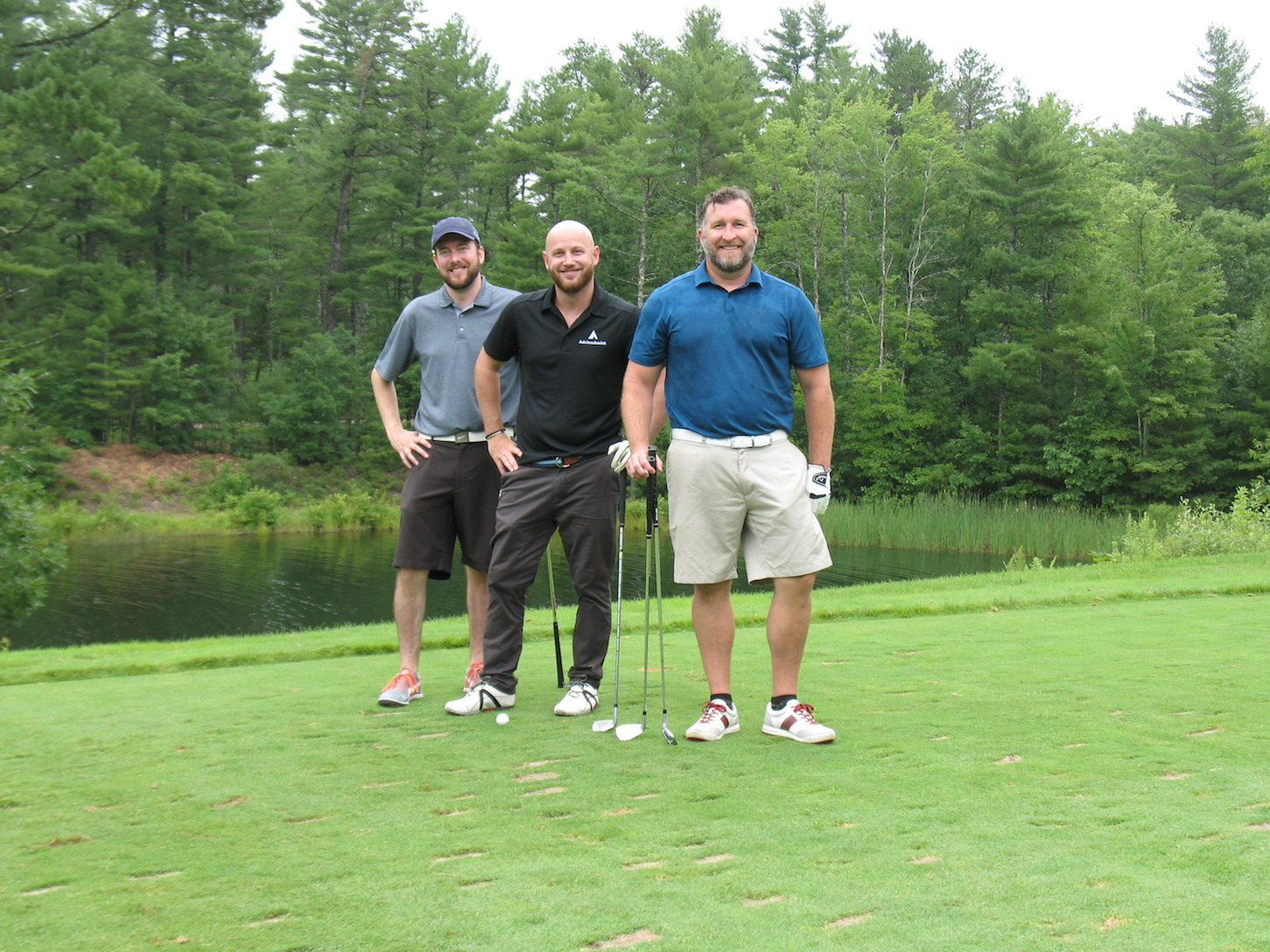 The Ferris Capital team is having a great day out on the course!