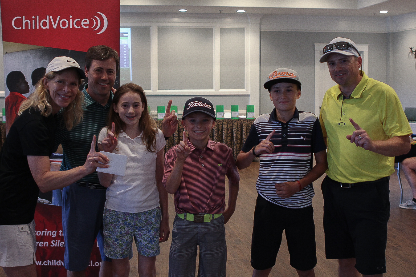 #23 Congratulations to our first place team, the O'Quinn family! Their team won a $400 gift certificate to The Oaks Pro Shop!