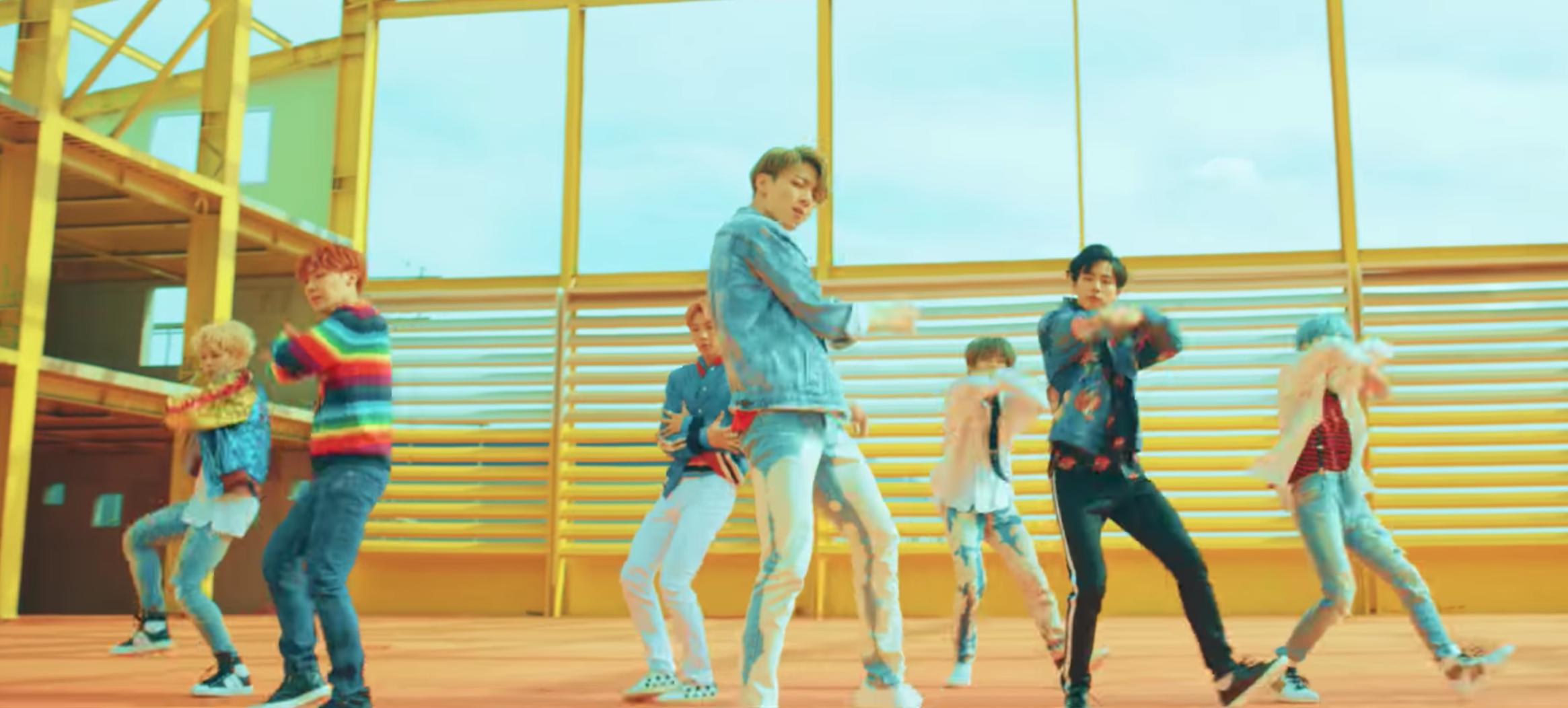 "BTS in ""DNA"""