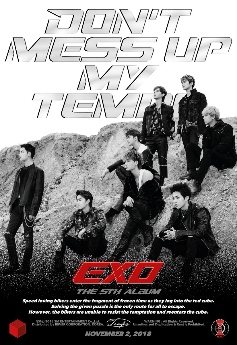 EXO Says Don't Mess Up My Tempo in 5th Studio Album — The Kraze