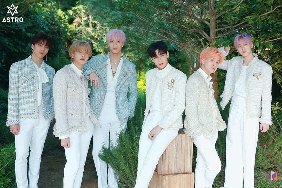 ASTRO Brings All Light with Their First Full-Length Album
