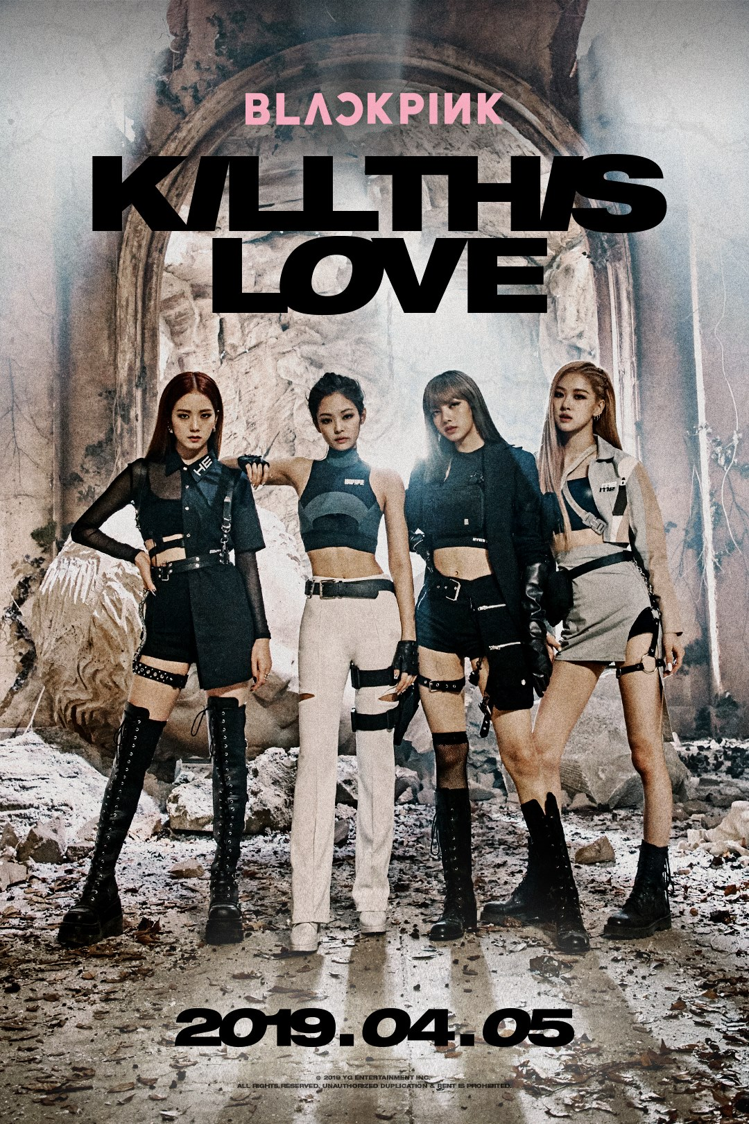 BLACKPINK's Got You with Kill This Love — The Kraze