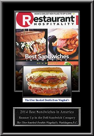 BEST SANDICHES IN AMERICA: AUG 2014