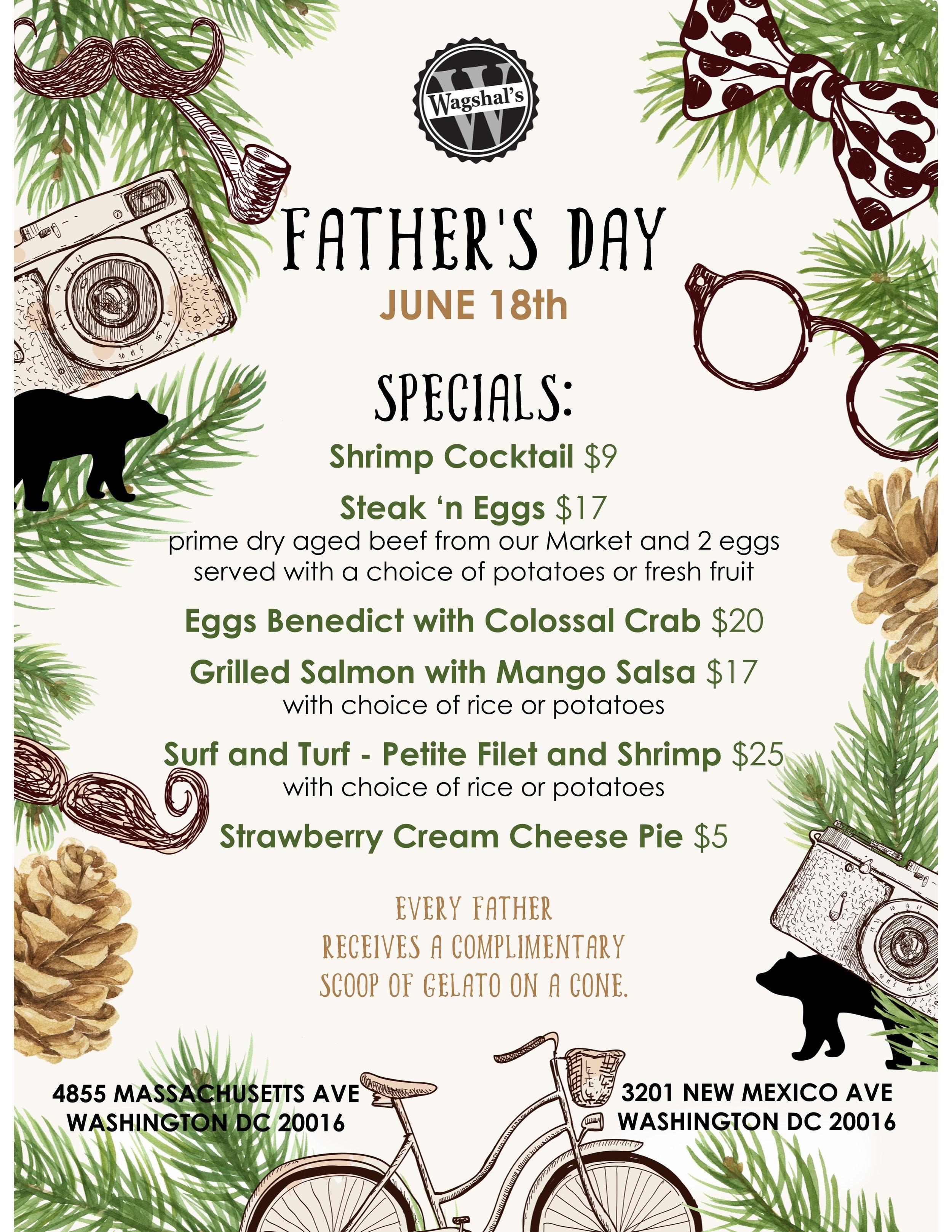Treat Dad to brunch & gelato! -