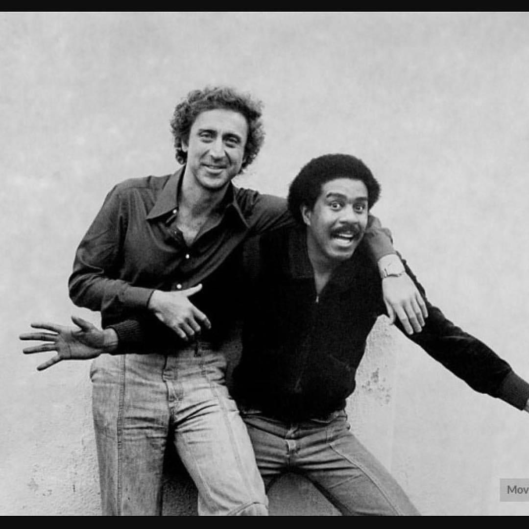 • Comedy legends • #Genewilder #RichardPryor #goodbye