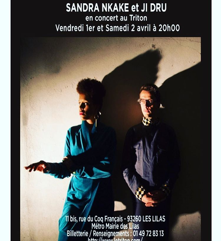 If you are in #paris do not miss this duo #SandraNkake #JiDru 🎤🎼💗 I can't go because I am performing tonight in #arles #cargodenuit and tomorrow #Avoriaz #jazzup. But please take a chance and trust me…. The music they make is gorgeous. #soulful #musiclover #vocaljazz #musicislife #musician #songwriter #flute #artistnetwork #musicheals #curiosity  (à Le Triton)