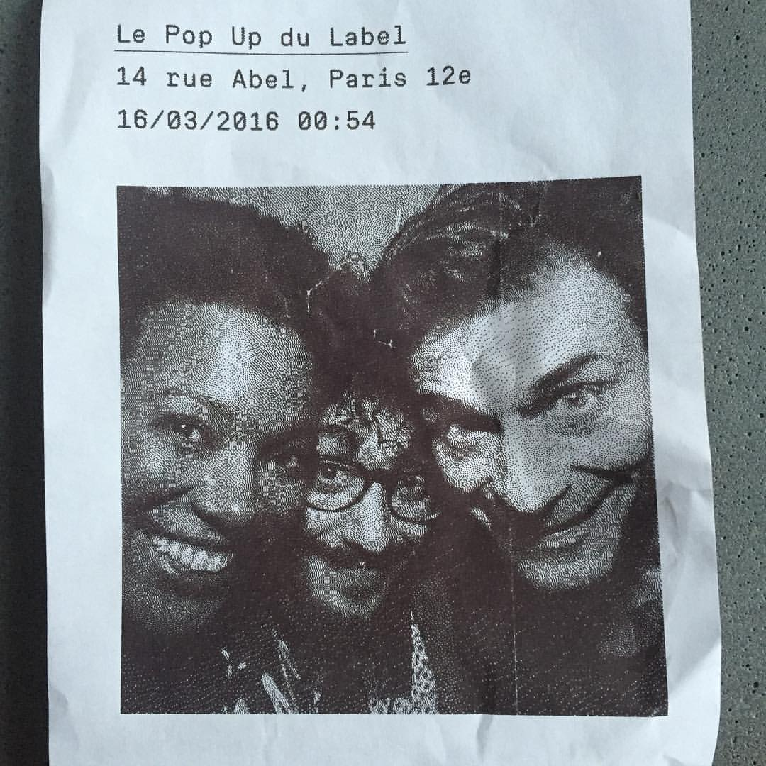 I think I had waaay too much fun last night listening to these guys play! #stephanechandelier #luigigrasso #popupdulabel #popupjam  (à Le Pop-Up du Label)
