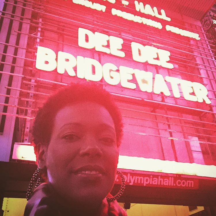 Proud daughter!! #nojo #olympia #paris #deedeebridgewater  (at Olympia (Paris))