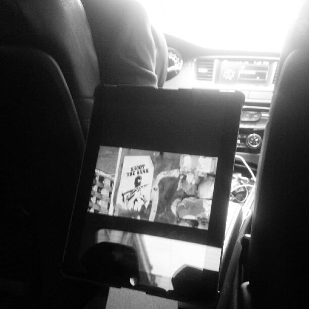 Dans les embouteillages avec @lecab et bien on regarde #arte #doc sur #goldmansachs @artede @artefr