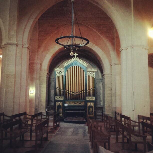 What a beautiful organ. #church #marseille #musicislove