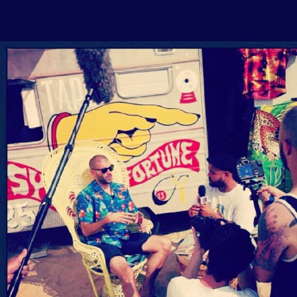 @raphalyem et @captainprod tournage @bigbiarritz #bigfestival #insidethebig avec le soutien de @erdfofficiel #biarritz