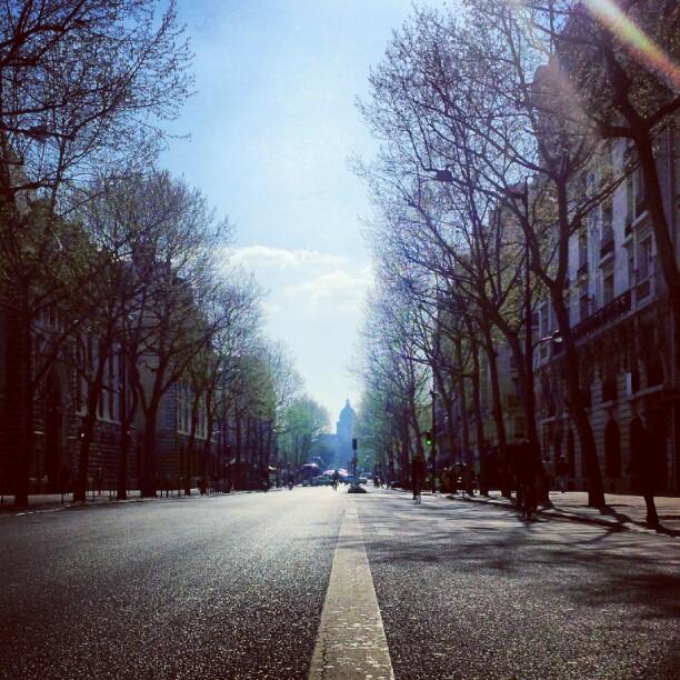 I love paris.
