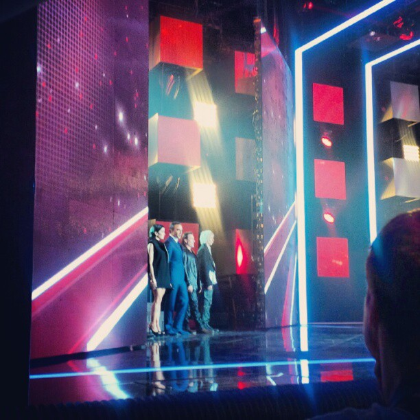 @TheVoice_TF1 les coach's et le grec. #thevoicefr #thevoicefrance #backstage #lescoulisses