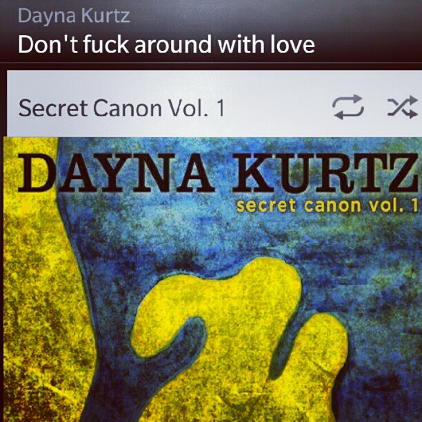 """#np #danynakurtz #dontfuckaroundwithlove @22tracks #music #Jazz #vocal """"take a little advice from me. Play around with TNT but baby don't fuck around with love"""" #lyrics"""