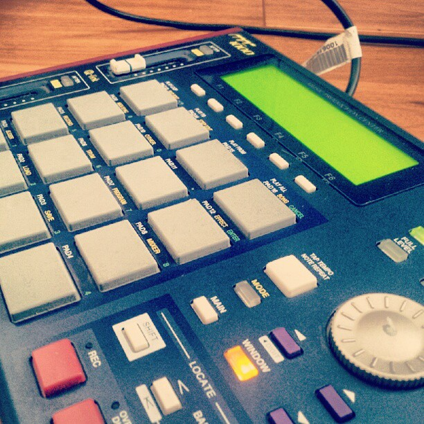@rachelclaudio Your precious is waiting. #singerexchange #mpc1000 #agirlsbestfriend #musicjunkies #music #beatmaking