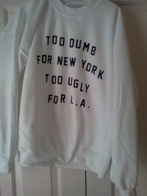 Cool Sweatshirt.