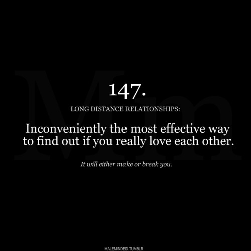 LONG DISTANCE LOVE.