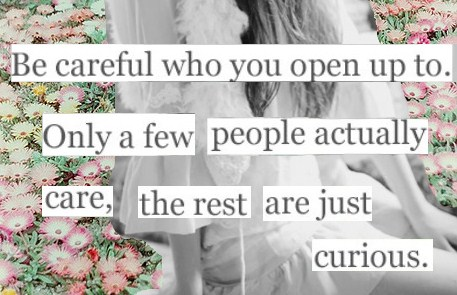 Be Careful.