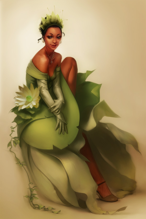 SEXY PRINCESS TIANA    divalocity :   I love this painting.    (via  Tiana by *Jace-Wallace on deviantART )