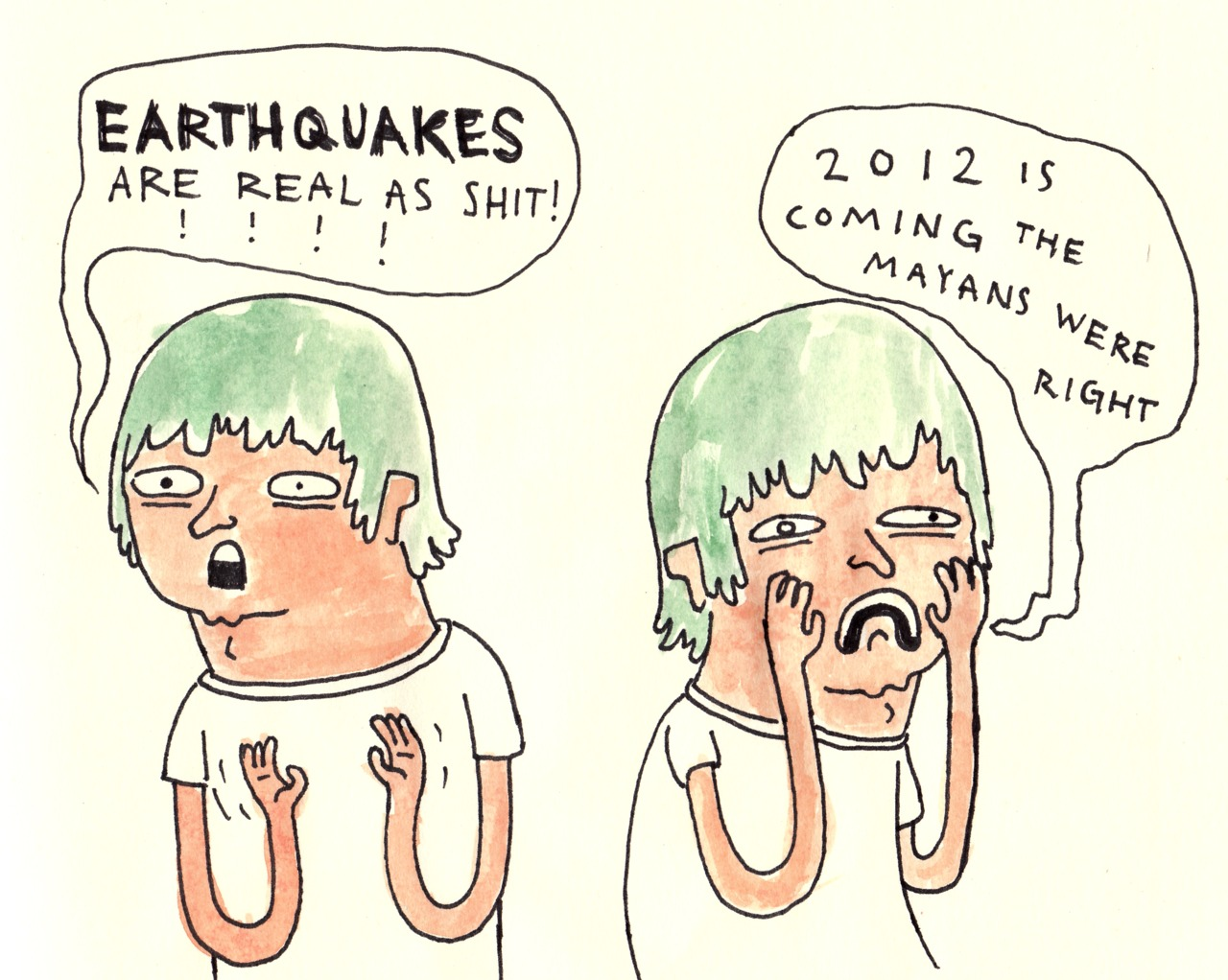 EARTHQUAKES ARE REAL AS SHIT