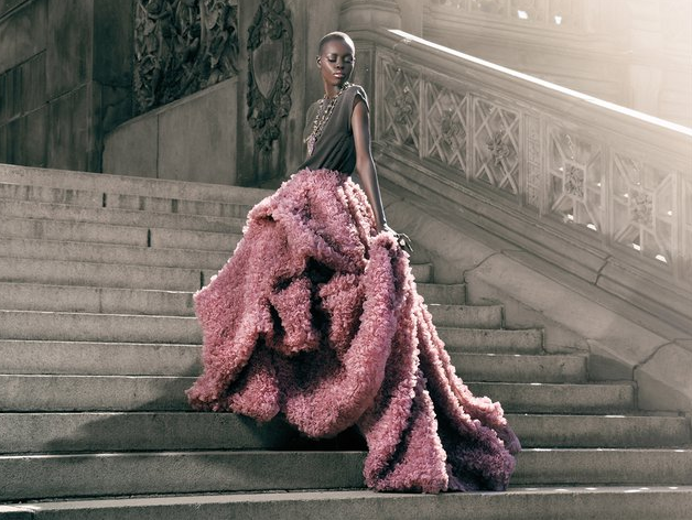 MY TYPE OF STYLE    divalocity :   Beautiful!   devoutfashion :     Grace Bol Vogue Italia by Bryan Taylor Johnson