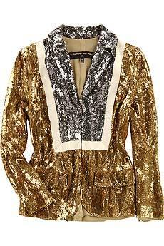 I need this last night!    thesecretdiaryofafgirl :     Alessandro Dell'Acqua Sequin jacket   $4741