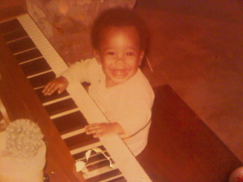 Like many musically inclined children. I guess I was born to do this. I don't know any other way. Married to music i am…