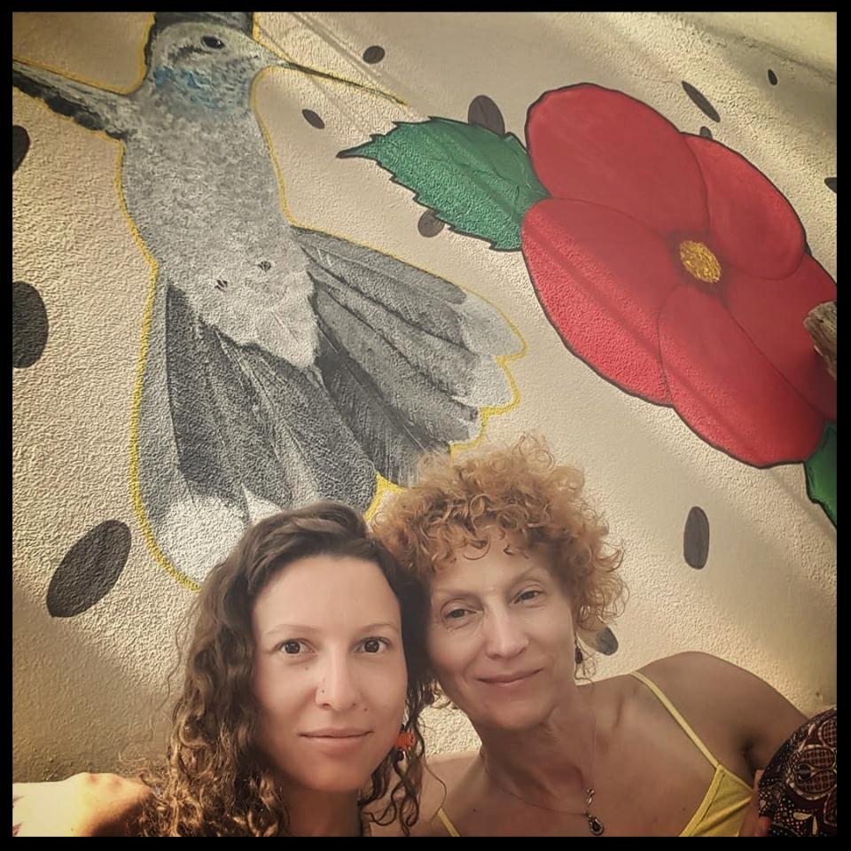 Eugenia Merkoulov & mom