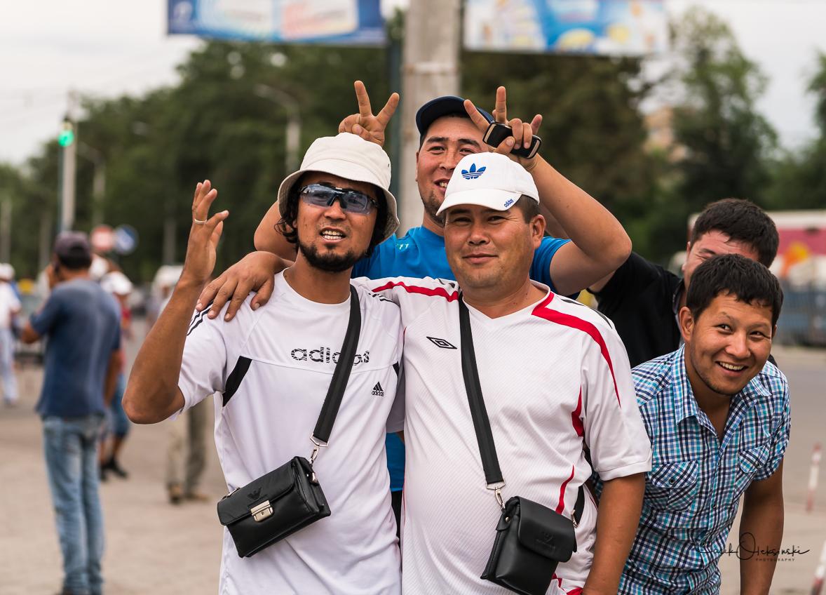 Friendly people in Bishkek