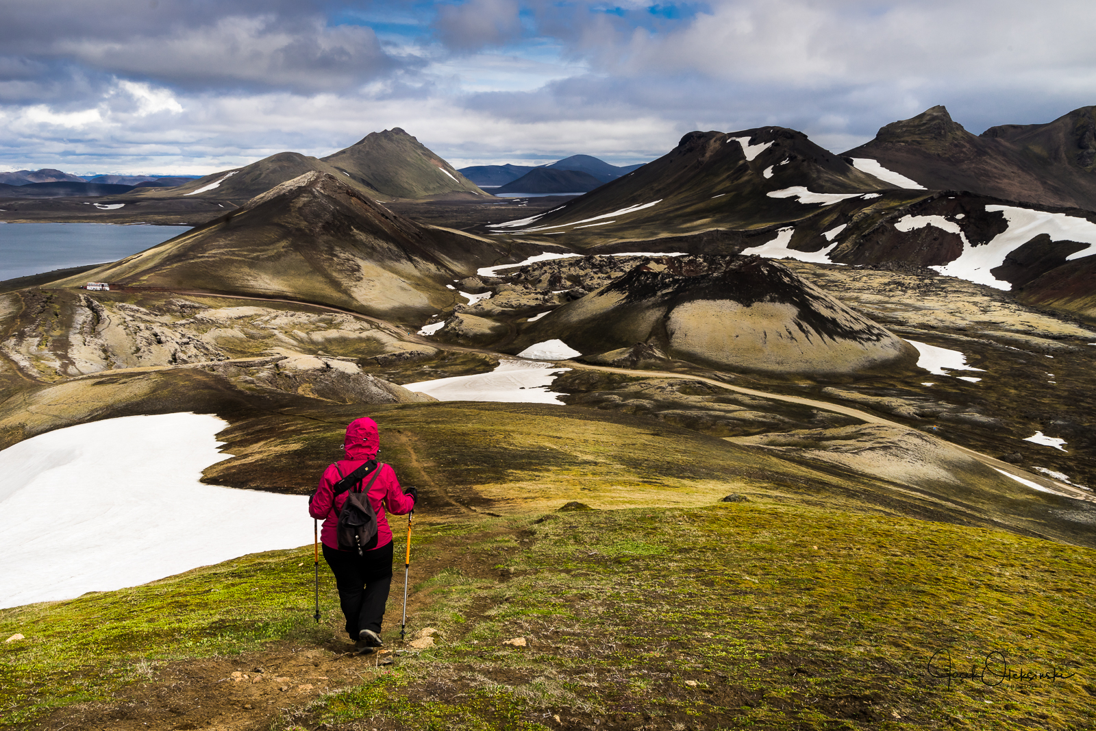 Great hiking possibilities at Landmannalaugar