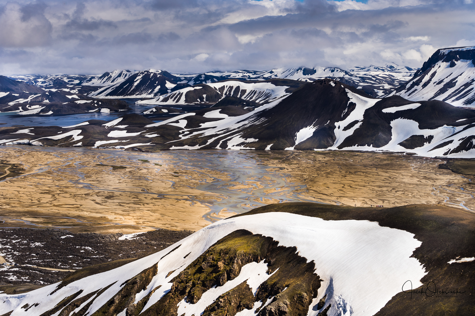 Spectacular views at Landmannalaugar