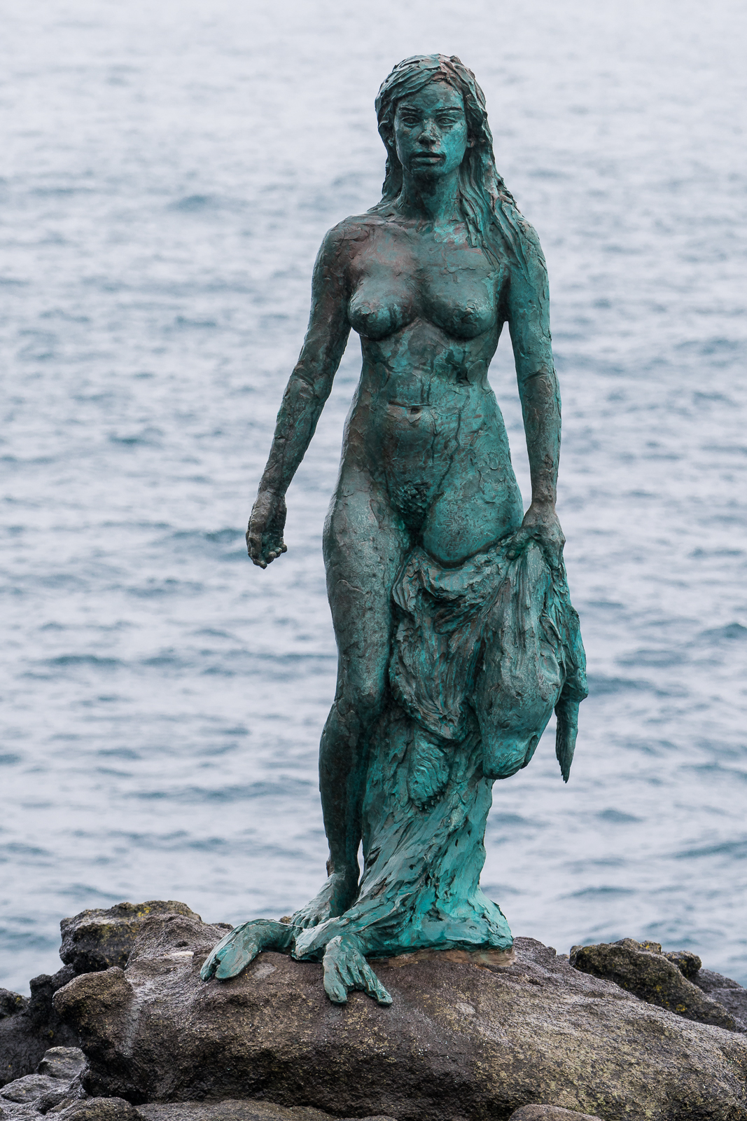 The seal woman at Mikadalur
