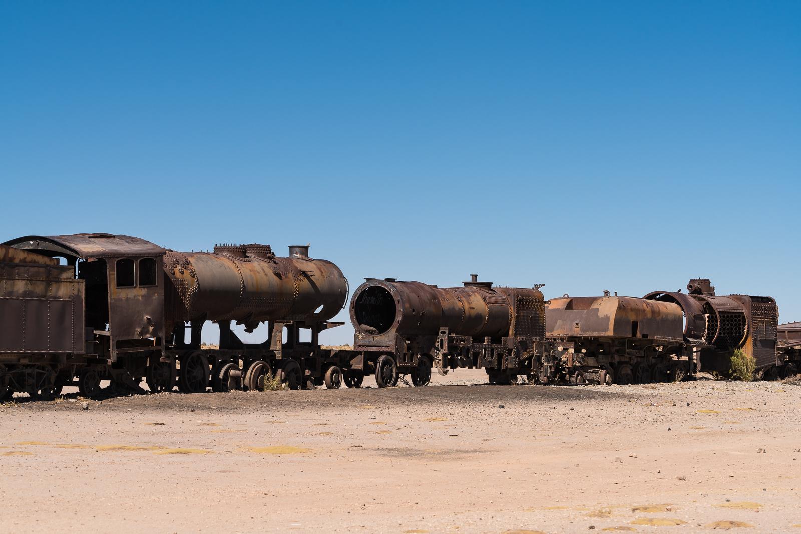 The train cemetary