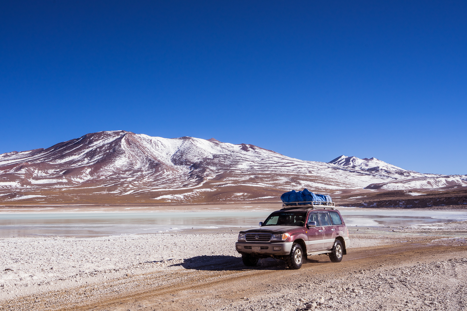 On the road through the Altiplano