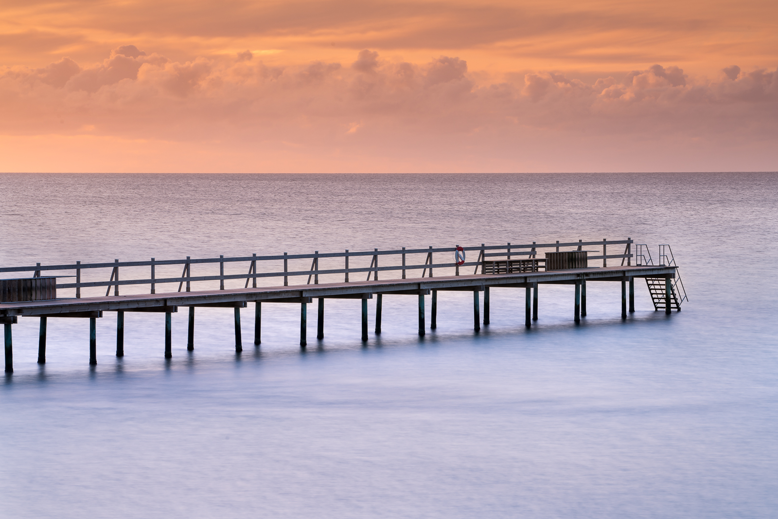 The main pier in Falsterbo