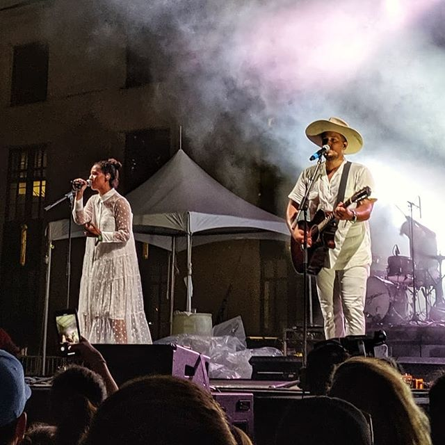 I've said it a thousand times.  So here's a thousand and one... @johnnyswim is marriage, community, and music goals, fo' sho. Where's my Abner?  Has to be here somewhere in Nashville, yeah? @liveonthegreen