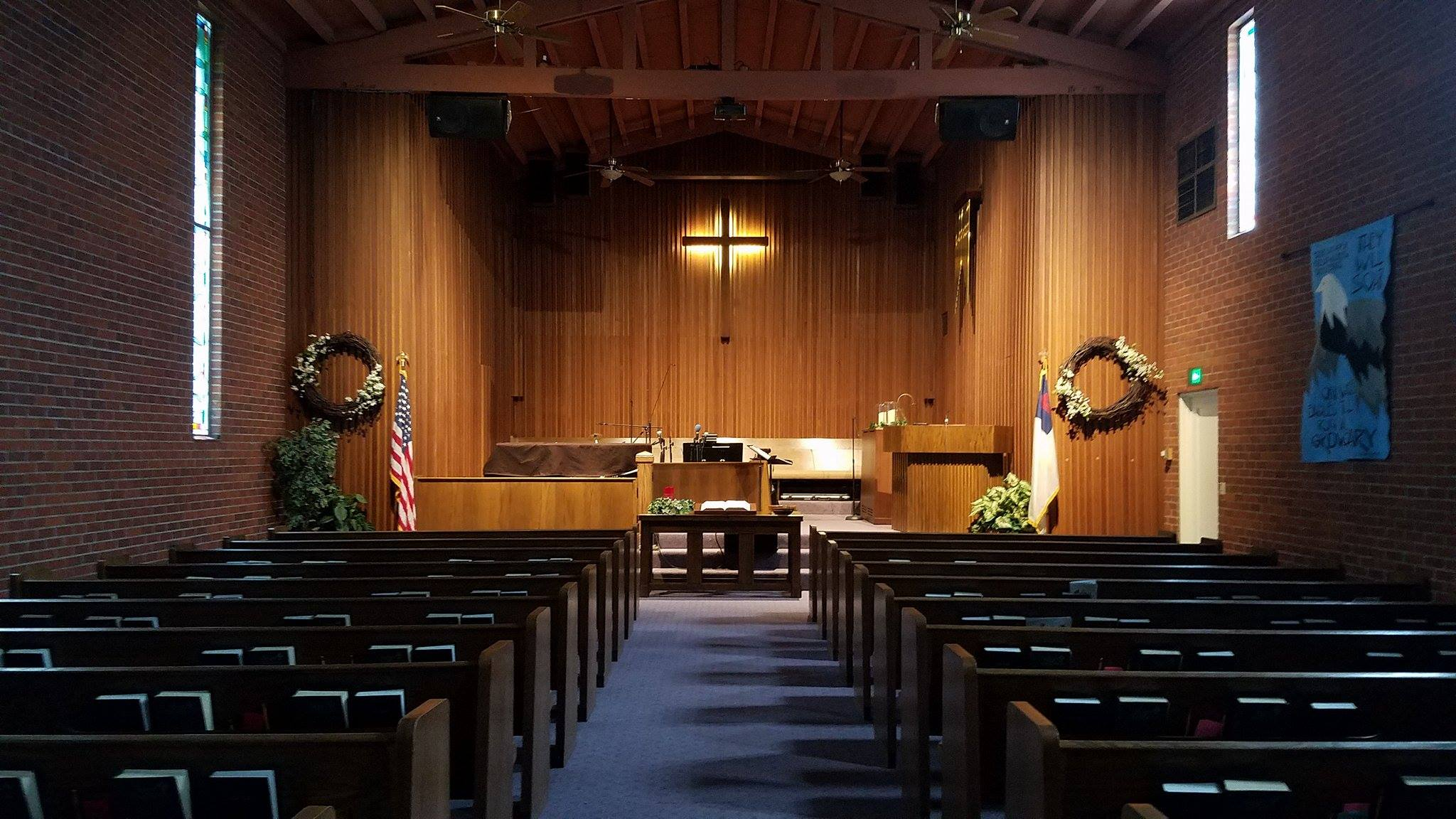 WE HOPE TO SEE YOU AT OUR NEXT SUNDAY WORSHIP SERVICE! - FIND US ON FACEBOOK